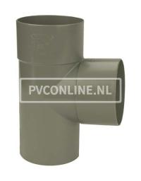 PVC T-STUK 2 X LM/S 110 X 75 90*