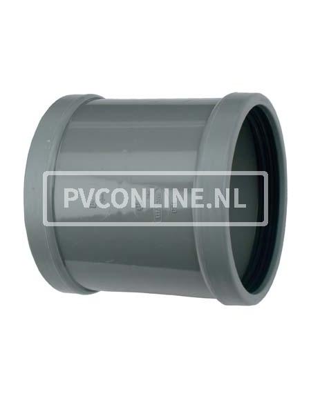 PVC OVERSCHUIFMOF 125