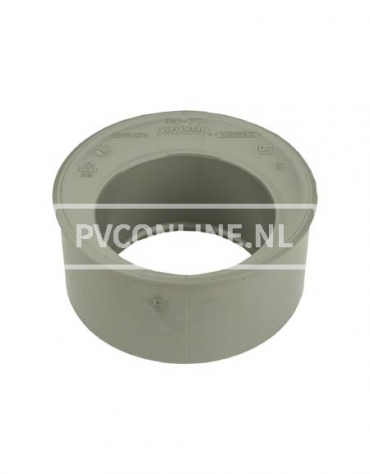 PVC VERLOOPRING 75 X 50