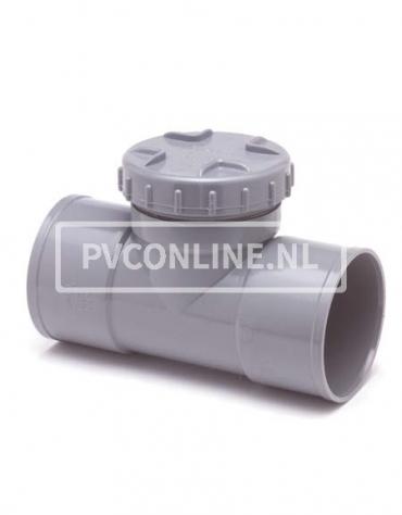 PVC ONST. T-STUK SCHROEF 75 2 X LM