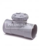 PVC ONST. T-STUK SCHROEF 125 2 X LM