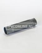 PVC FLEXI BOCHT 2 X LM 50 MM 0-45* LENGTE 240MM