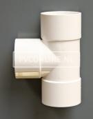 PVC T-STUK 3 X LM 50 X 50 90 WIT