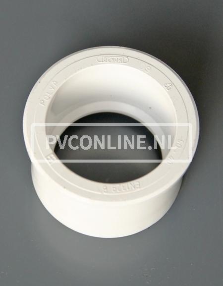 PVC VERLOOPRING 50 X 32 WIT