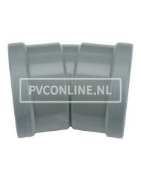 PVC BOCHT 2 X MA 125 15*