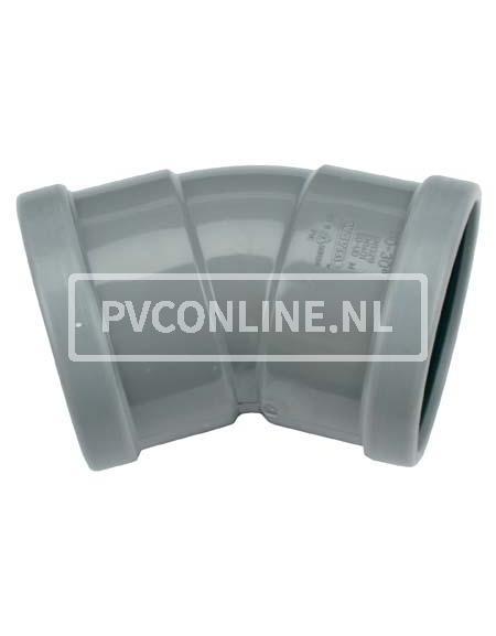 PVC BOCHT 2 X MA 125 30*
