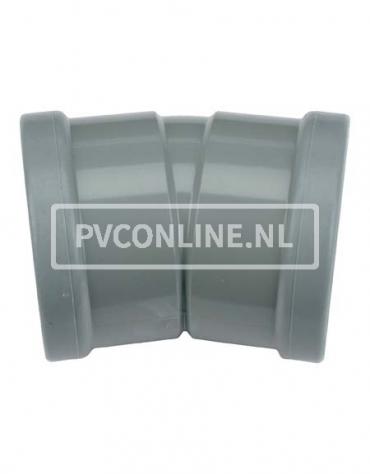 PVC BOCHT 2 X MA 160 15*