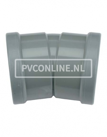 PVC BOCHT 2 X MA 200 15*