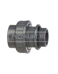 PVC HD ZWEMBADKOPPELING 40 x 1 1/4 (M) *VDL*