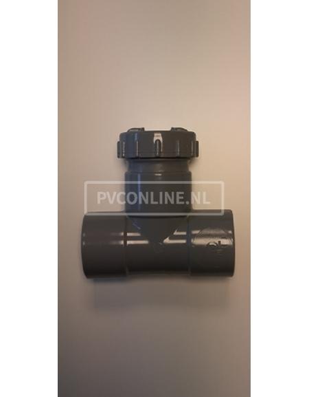 PVC ONST. T-STUK SCHROEF 50 2 X LM