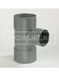 PVC T-STUK 3 X LM 110 X 75 90*