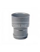 PVC OVERGANGSSTUK PVC/GRES-GY 110X180
