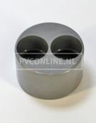 PVC VERLOOPRING DUBBEL110 X 40 X 40