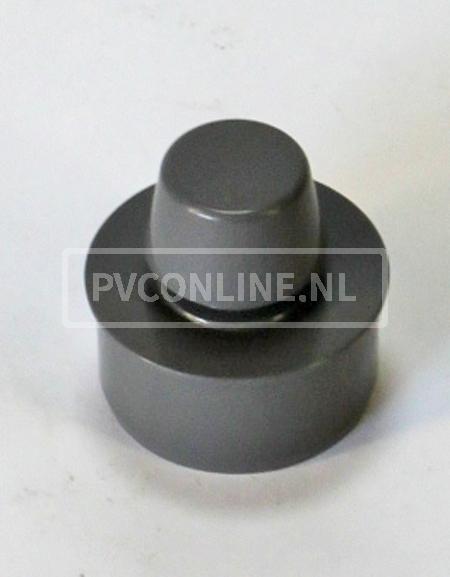 PVC BELUCHTER 75. 1X40 BEL. IN VERLOOPRING 75X40