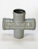 PVC DUBBEL T-STUK 3 X MA/S 110 90*