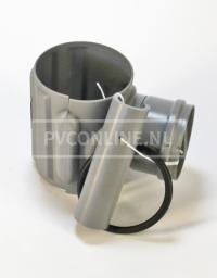 PVC KLEMAANSLUITSTUK 160 X 110