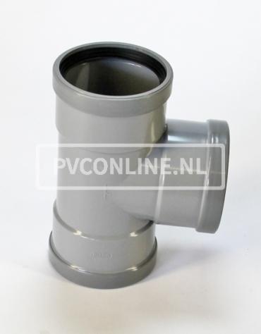 PVC T-STUK 3 X MA 125 X 110 90*