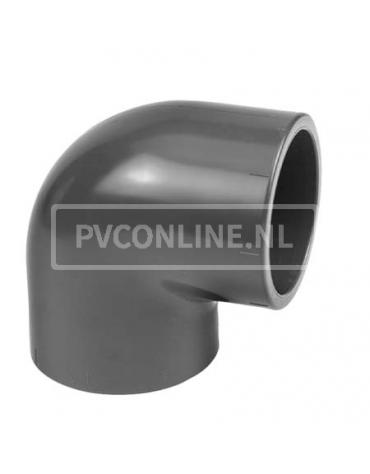 PVC KNIE 10 X 10 90* PN 16
