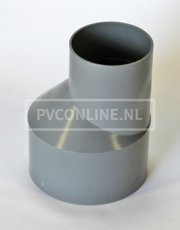 PVC VERLOOPSTUK 200 X 125