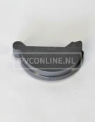 PVC GOOT EINDDEKSEL LINKS 125 KLEM