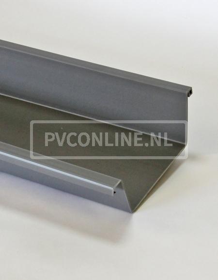 PVC S-LON BAKGOOT 180 MM GRIJS LGT 4 MTR