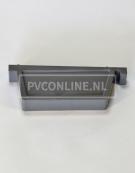 PVC BAKGOOT EINDSTUK LINKS 180 MM