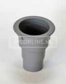 PVC GOOTUITLOOP WARTEL 180 BUIS 70/ 80